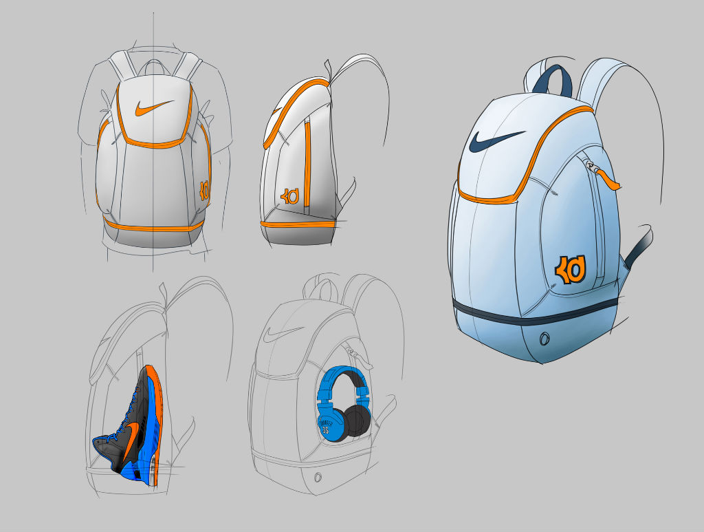 Kevin Durant's Nike Backpack: Inside Access (8)