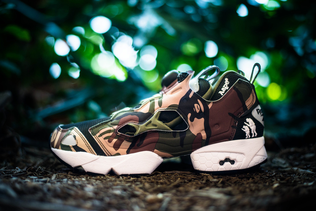 aape by a bathing ape x reebok pump fury profile