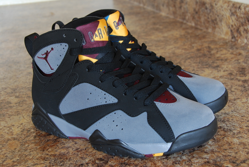 release recap air jordan retro 7 39 bordeaux 39 sole