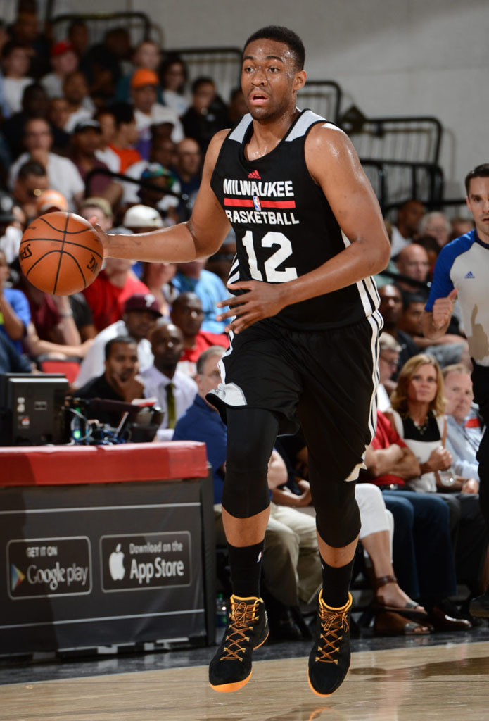 Sole Watch: The Best Sneakers Spotted at 2014 NBA Summer ... Jabari Parker Shoes
