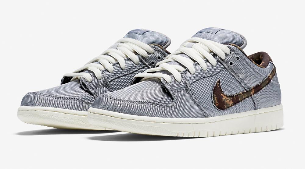 size 40 04d73 420ab Nike SB Dunk Low Camo Swoosh