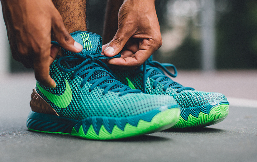 new concept 5243d 1f42b Here's How the 'Australia' Nike Kyrie 1s Look On-Feet | Sole ...