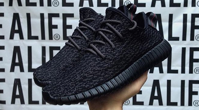 Adidas Yeezy Boost 350 v 2 'Black / White' Sneaker News