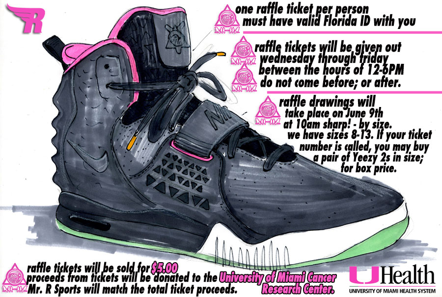 c790be7a9 Nike Air Yeezy II - Mr. R Sports Release Information