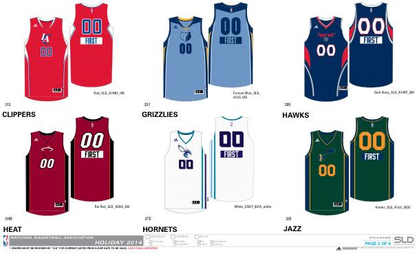 An Early Look at Next Season s NBA Uniforms  875b6464e