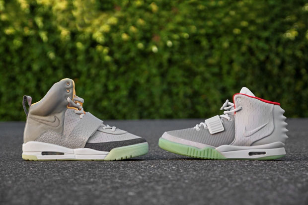 The Top 10 Strapped Sneakers of All-Time: Nike Air Yeezy 1 & 2