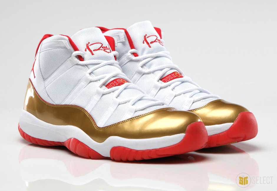 air jordan 11 ray allen two rings