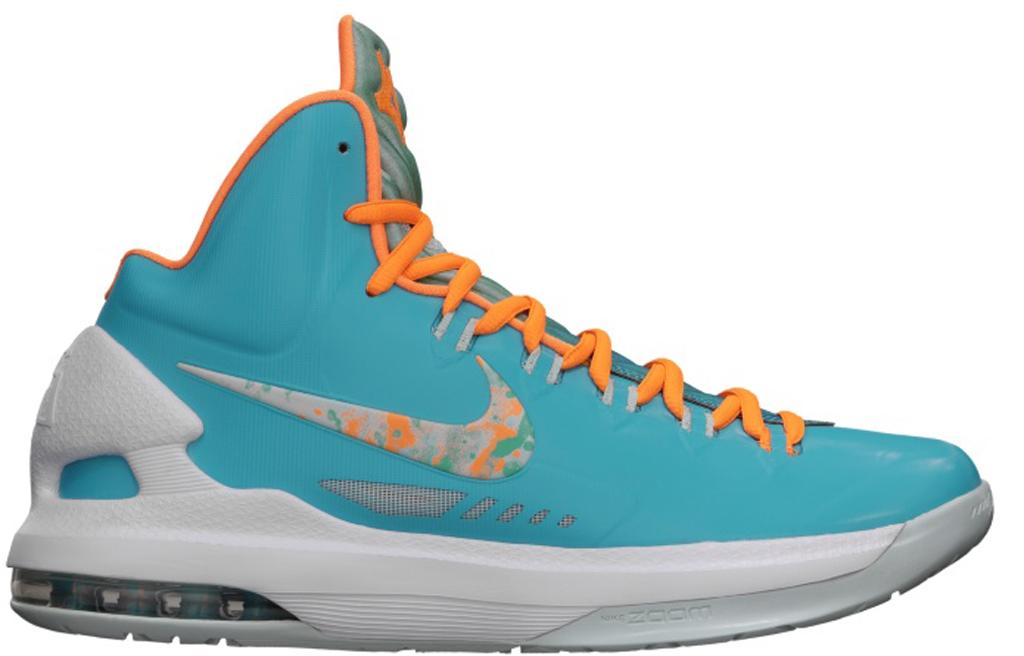 huge selection of 562d4 39fdf Find Nike KD V 5 Easter Turquoise Blue Bright Citrus-Fiberglas
