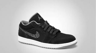 Air Jordan 1 Phat Faible Couleur Noir Charbon / Lumière Footaction sortie 5H5BsLkZ