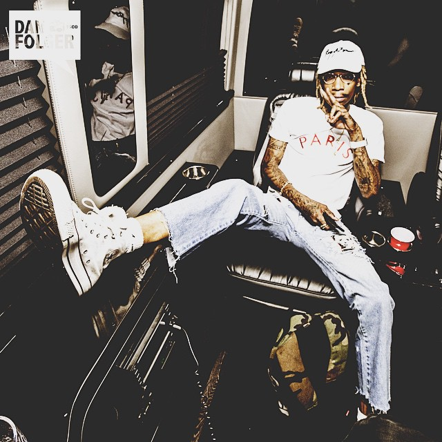 Wiz Khalifa wearing the Converse Chuck Taylor All Star