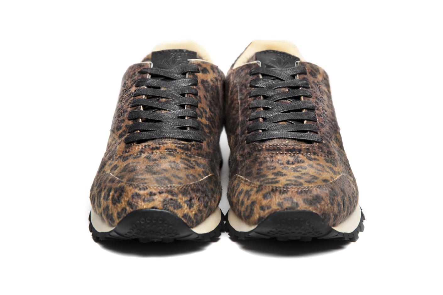 2fd4eced53 Head Porter Plus x Reebok Classic Leather leopard front