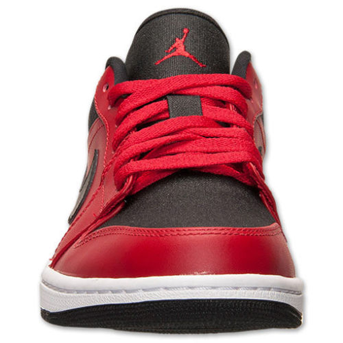 ... top quality air jordan 1 low black red 33f2e 373bb 00b999c308