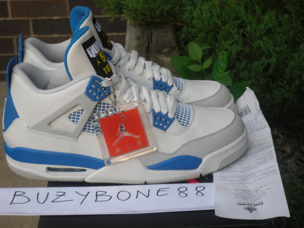 Air Jordan IV 4 Quai 54 Military Blue (6) 2f4dcfd6f8c2