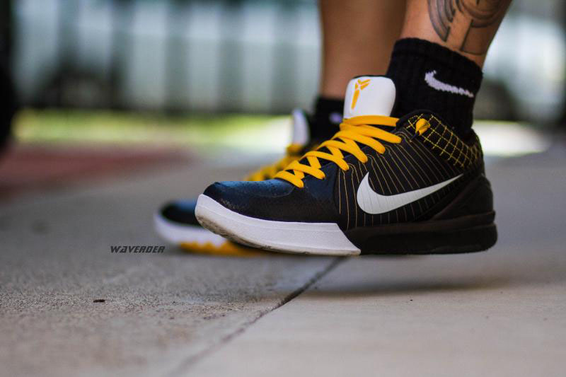 waverder in the Nike Zoom Kobe IV