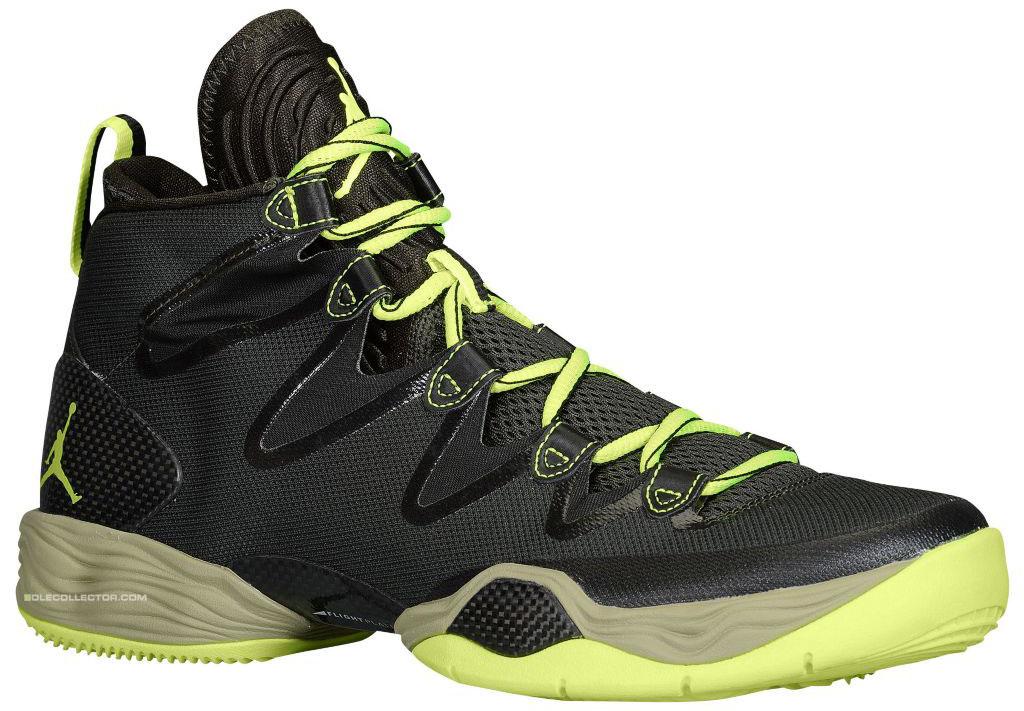 Air Jordan 28 Black And Green