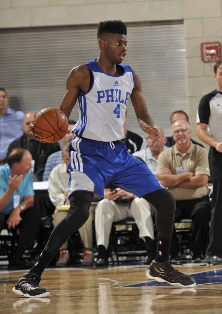 Nerlens Noel wearing Reebok Answer XIV 14