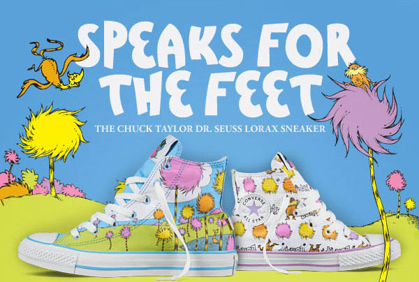 a81d6e0e455d95 Dr. Seuss x Converse Chuck Taylor All Star - The Lorax Collection ...