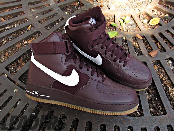 Nike Air Force 1 High Burgundy