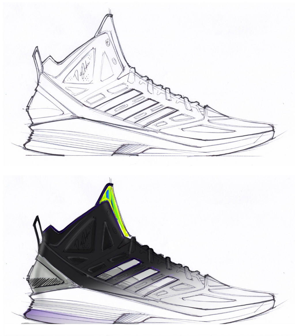 Sketch Work // adidas D Howard Light (5)