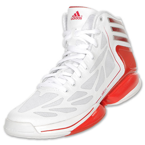 the latest 8e952 01d6a adidas adiZero Crazy Light 2 White Red G59422 (2)