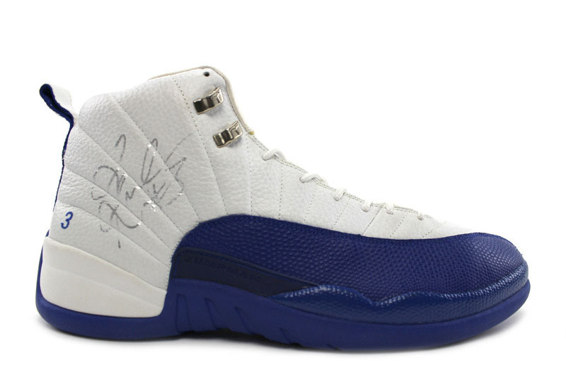 Quentin Richardson wearing Air Jordan XII 12 Los Angeles Clippers Home PE (2)