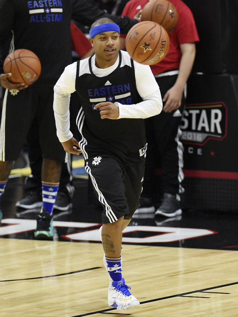 Solewatch Sneakers Spotted During Nba All Star Practice
