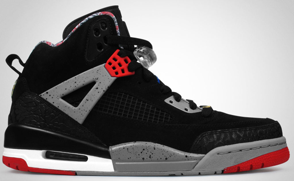 best service f8c2d 34776 Jordan Spiz ike  Cement  315371-062 Black Varsity Red-Cement Grey-True Blue