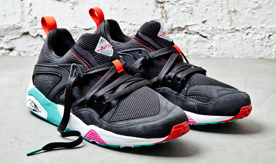 Sneaker Freaker x PUMA Blaze of Glory Shark Attack II Black Beast