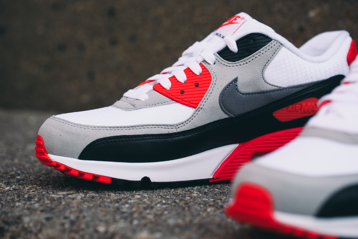 best website 8217b 385aa Your Best Look Yet at the 2015 'Infrared' Air Max 90s | Sole ...