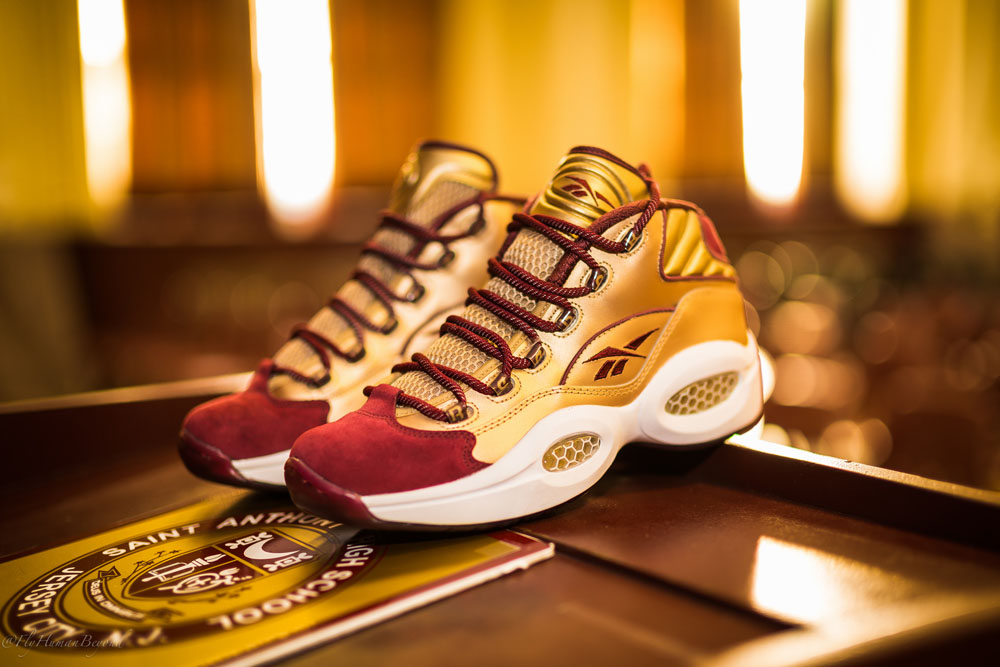 Packer Shoes x Reebok Question Saint Anthony PE