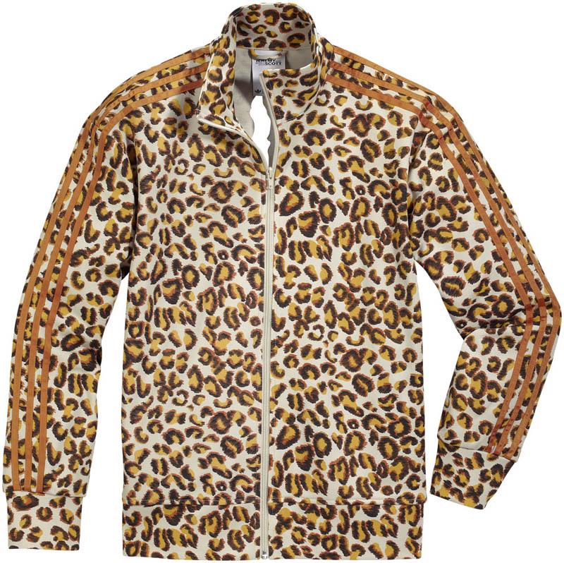 adidas jeremy scott leopard track top