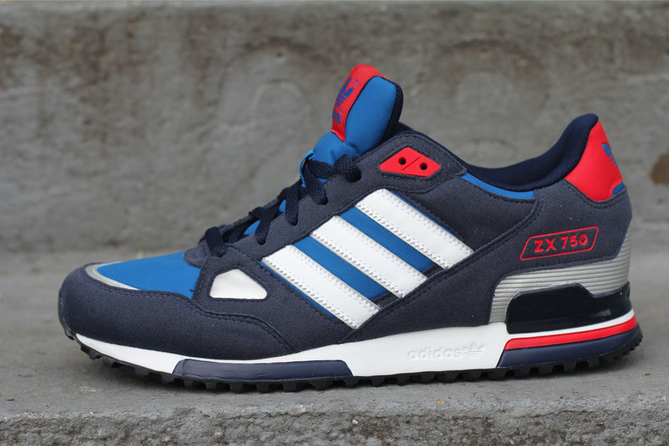 adidas ZX 750 Navy Pool White Red G61242 (1)