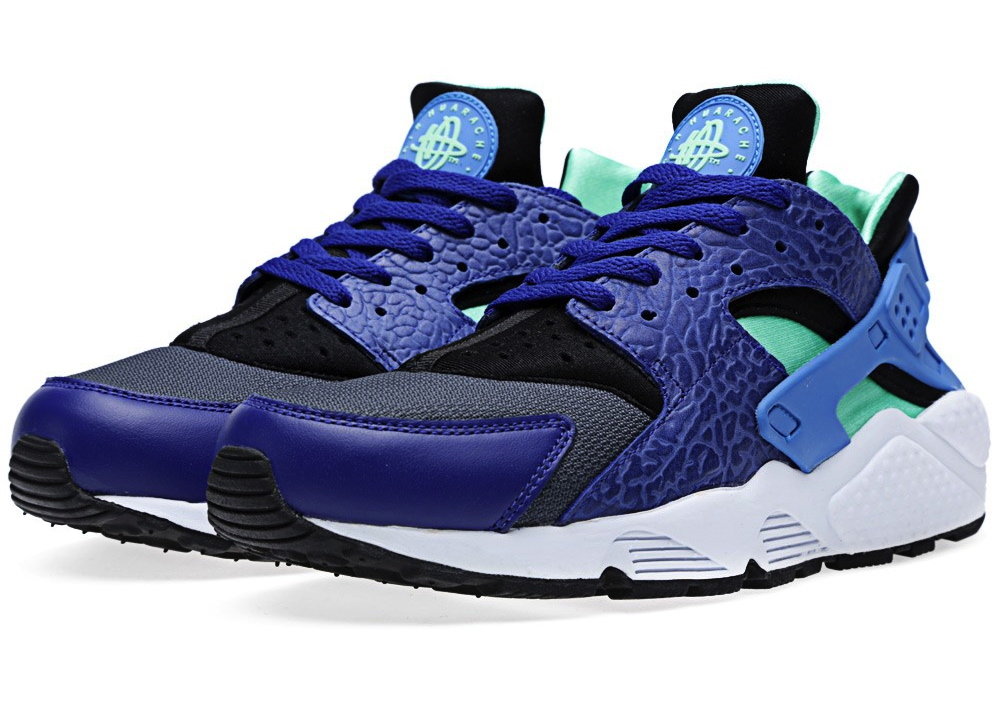 buy online 3e0f5 43f40 nike air huarache og elephant print · nike air huarache og elephant print  in deep royal blue and blue hero
