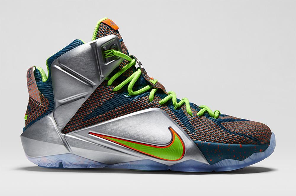 best website 6cd7f 47fe1 Nike LeBron 12