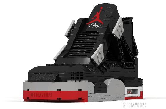 how to build lego jordans