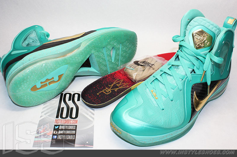 Nike LeBron 9 PS Elite 'Statue of Liberty' MVP Sample (2)