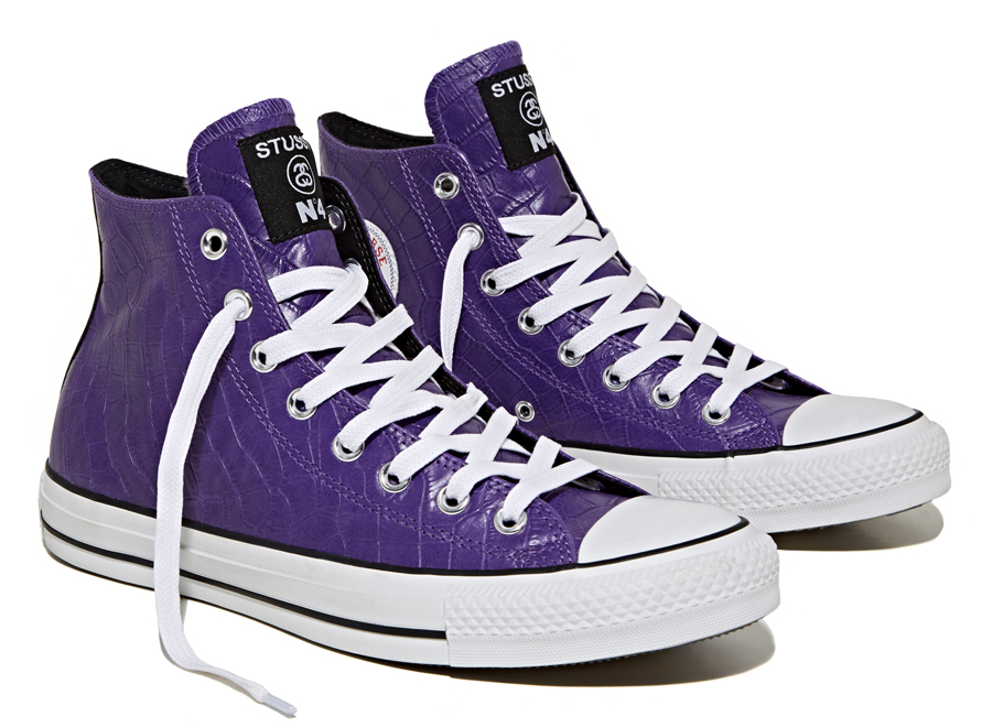 Stussy x Converse Chuck Taylor All Star Collection Purple