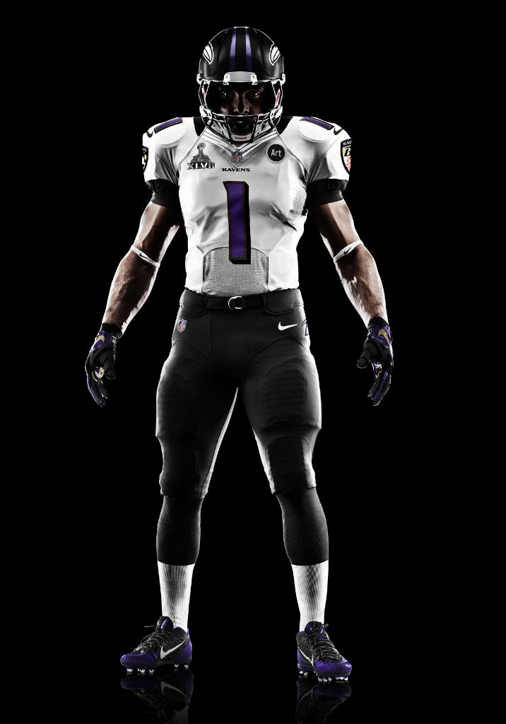 Nike Elite 51 Super Bowl XLVII Uniforms for Baltimore Ravens (1)