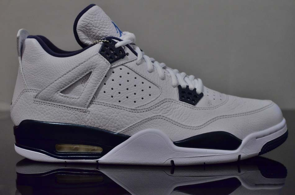 4d482188b85 An Early Look at the Remastered Air Jordan 4 Retro 'Columbia' | Sole ...
