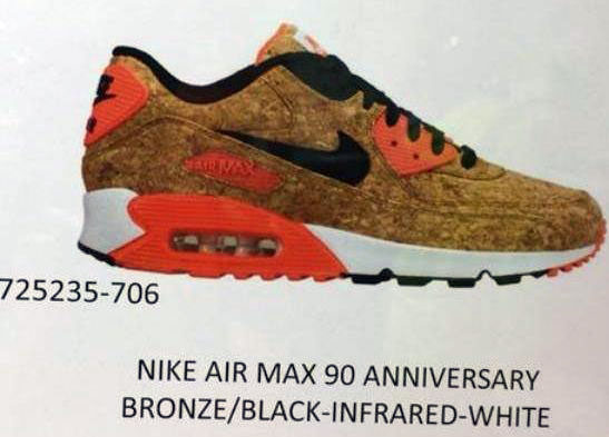 fc7ae4092c The Nike Air Max 90 Will Celebrate its 25th Anniversary with a 'Cork ...