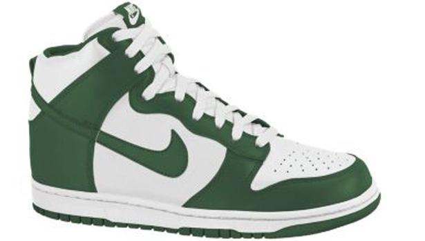 Nike Dunk High Gorge Green/Sail