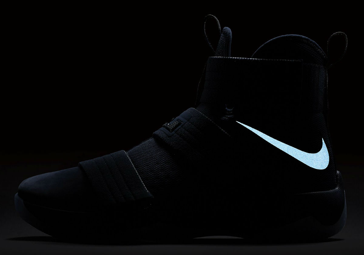 1c4a8af6267 Nike LeBron Soldier 10 Midnight Navy Release Date Swoosh 844378-444