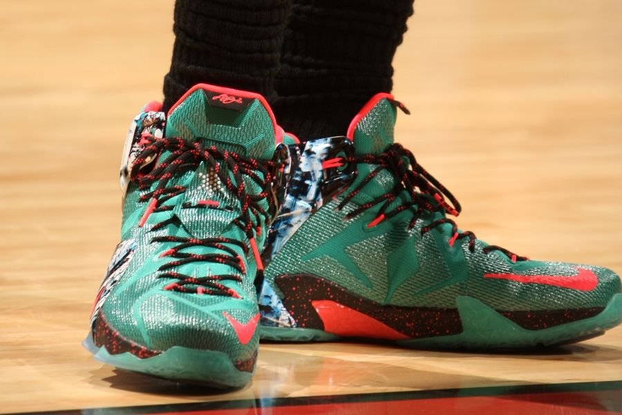 fd8ca1078ff8 SoleWatch  LeBron James Visits Familiar Territory in the  Akron ...