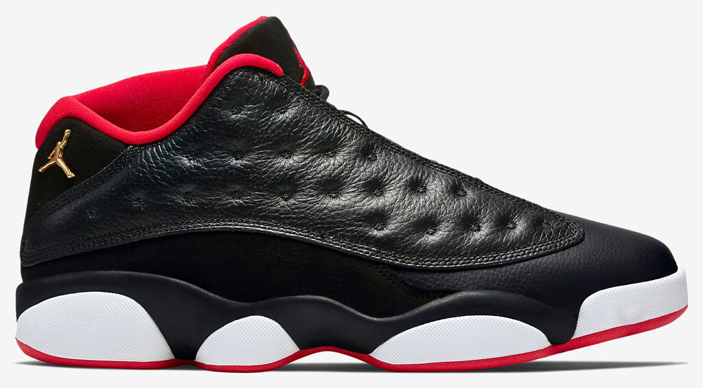 Air Jordan XIII 13 Low Playoffs Bred Release Date 310810-027