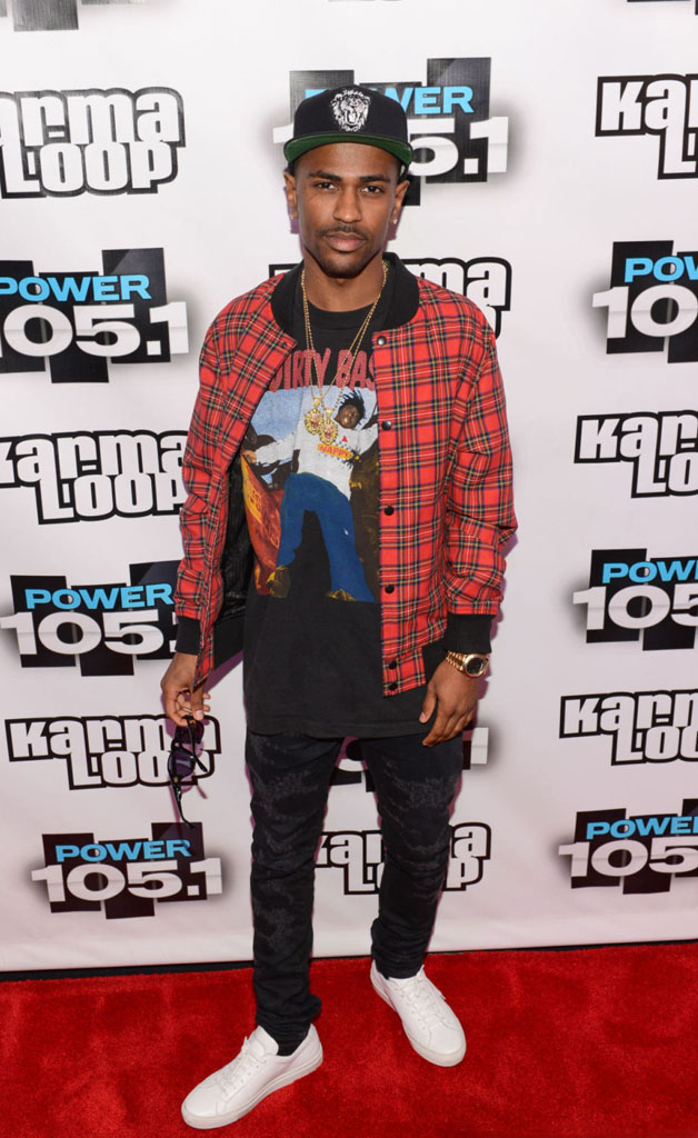Big Sean wearing Common Projects Achilles Low