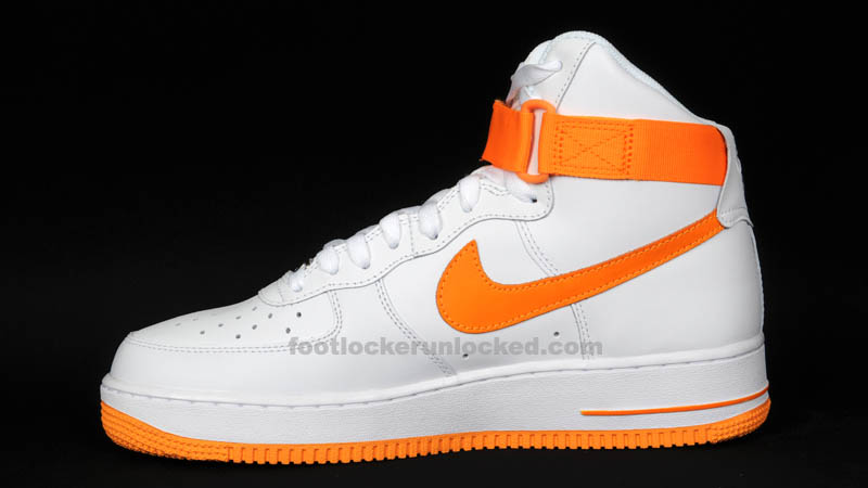 Nike Air Force 1 High White Vivid Orange 315121-180 (4)