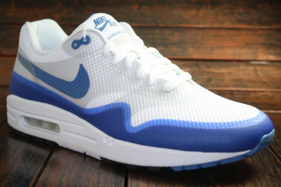 Air Max 1 White Blue
