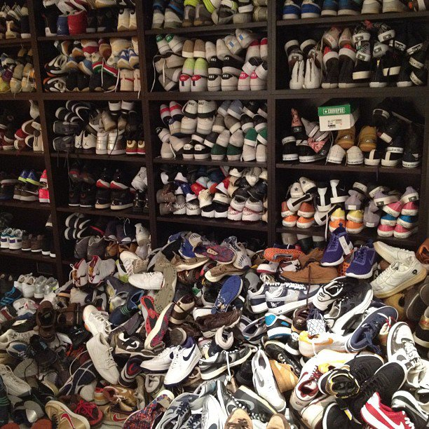 4d712dde1f97 Edison Chen Posts Wild Shoe Closet On Instagram