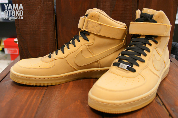 nike air force 1 downtown high gum light brown sole. Black Bedroom Furniture Sets. Home Design Ideas