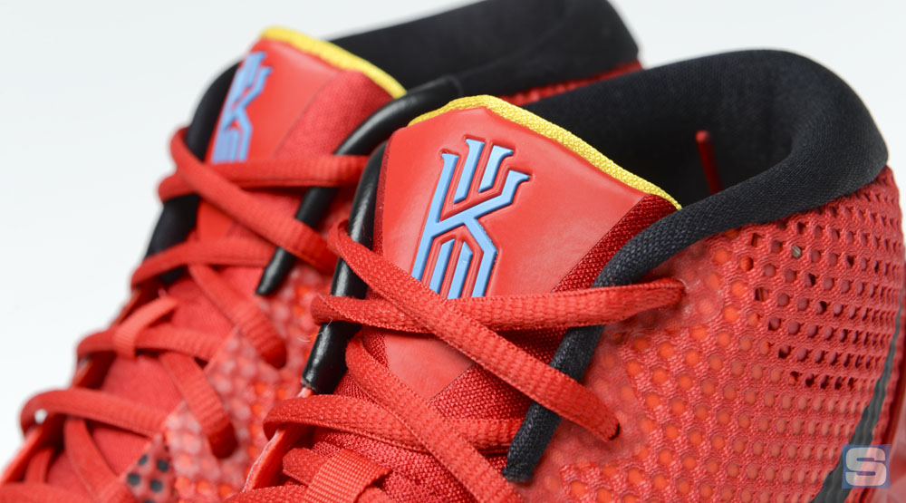 Nike Kyrie 1 Deceptive Red Bright Crimson Black